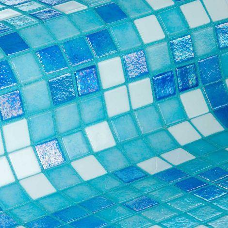 Мозаика Sky Mix Iris — синий с белым