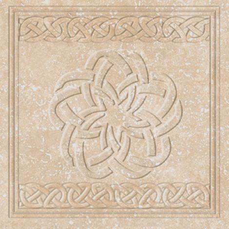 Декоративная клинкерная вставка Stone Flor Ocre 33x33 см