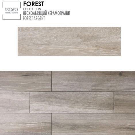 Forest Base Argent 22x85 см, керамогранит