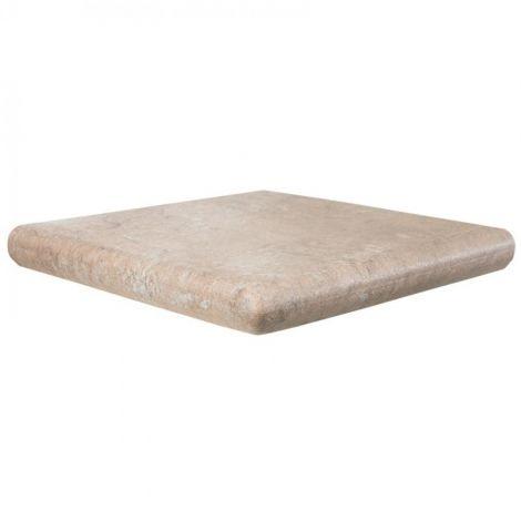 Клинкерная угловая ступень под камень Manhattan Cartabon Mink