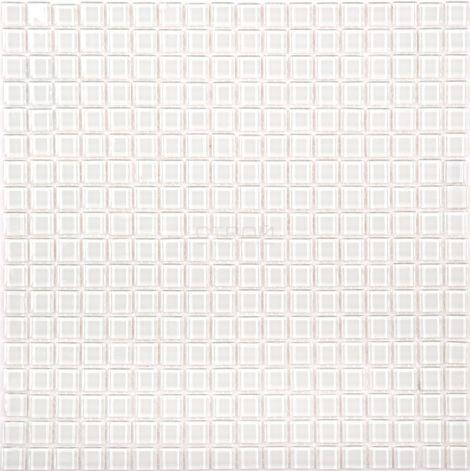 Белая мозаика Crystal JP-405M 1,5х1,5 см завода NsMosaic