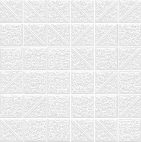 Прессованная мозаика из керамического гранита: Ла-Виллет белый