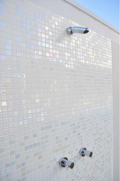 Мозаика Diamond Mix Iris — в интерьере