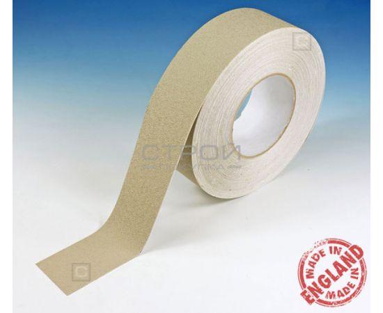Бежевая виниловая противоскользящая лента Aqua Safe, Длина: 18,3 метра, Ширина: 5 см
