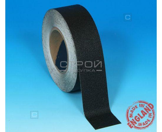 Черная виниловая противоскользящая лента Aqua Safe, Длина: 18,3 метра, Ширина: 5 см