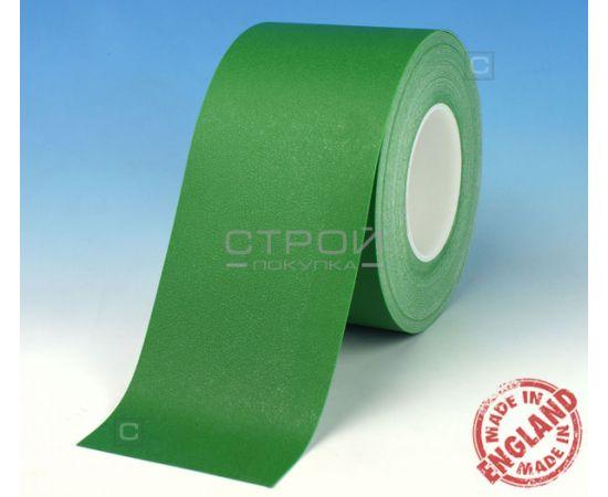 Зеленая лента виниловая самоклеющаяся Resilient, с противоскользящим эффектом. Ширина: 10 см, Длина: 18,3 метра