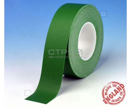 Зеленая лента виниловая самоклеющаяся Resilient, с противоскользящим эффектом. Ширина: 2,5 см, Длина: 9 метров