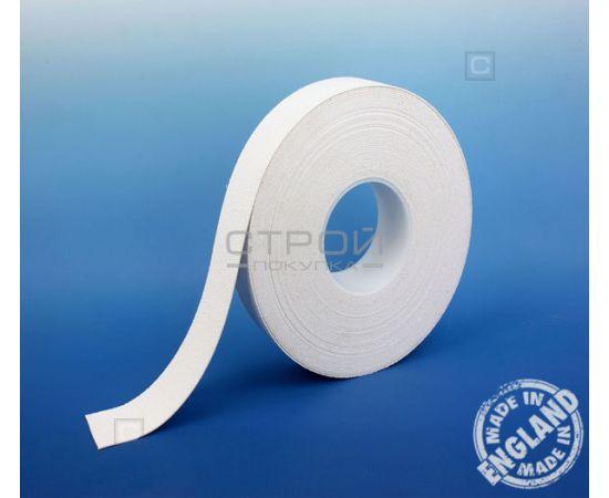 Белая виниловая противоскользящая лента Aqua Safe, Длина: 18 м, Ширина: 2,5 см
