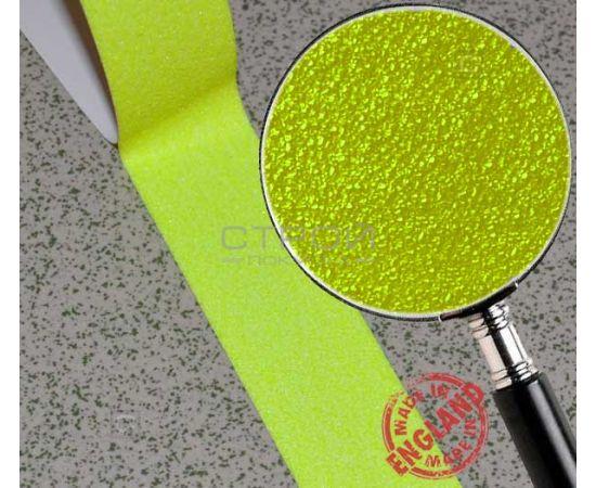 Желтая самоклеющаяся лента противоскользящая (лимонная)