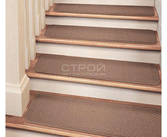 Прямоугольные накладки на ступени с закругленными краями Рябь-К.