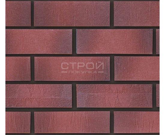 Гибкий клинкер красный с темно-красным градиентом B4 24х8 см Кералин