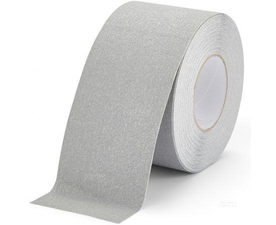Серая противоскользящая лента Heskins с абразивным покрытием шириной 10 см