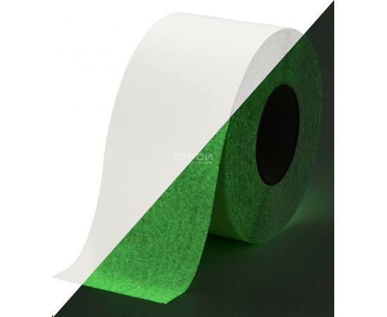 Светящаяся клейкая лента против скольжения, Heskins (10 см)