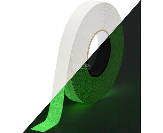 Светящаяся клейкая лента против скольжения 2.5 см, Heskins