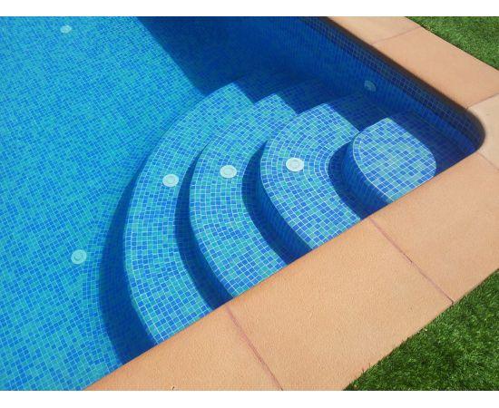 Мозаика Mix 25004-B в бассейне