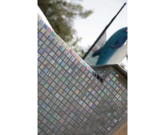 Мозаика Iris Cuarzo бортик бассейна
