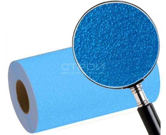 Зернистость голубой противоскользящей ленты
