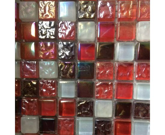 DGS016 мозаика 15х15 мм из стекла