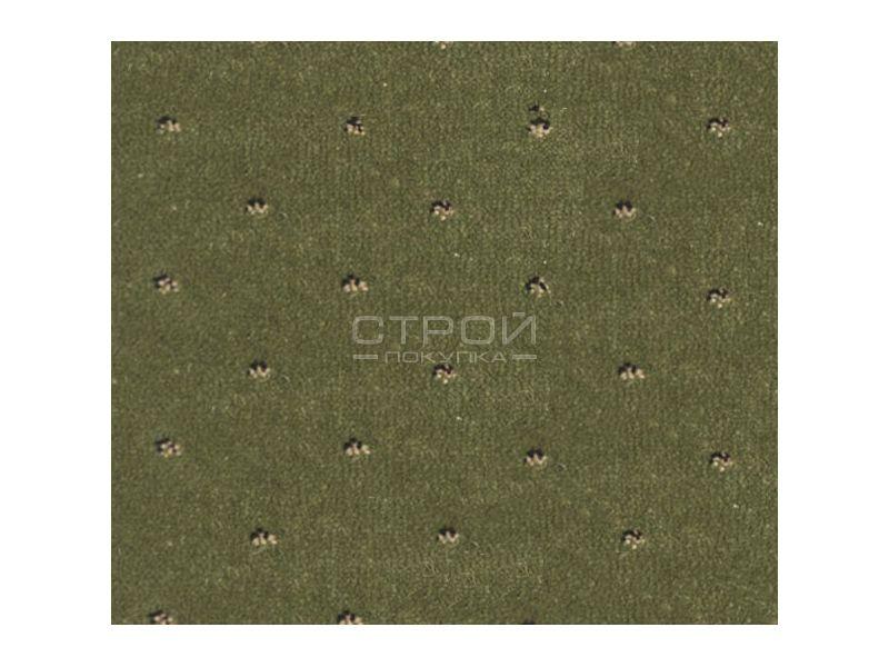 Фактура зеленых ковровых накладок Барс на ступеньки.