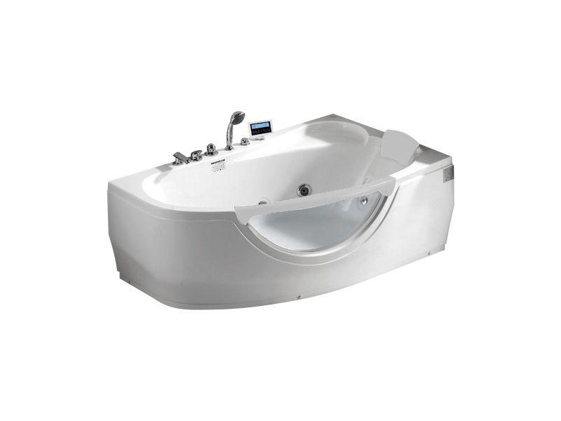 Гидромассажная ванна Gemy G9046 K R правосторонняя с мультимедиа