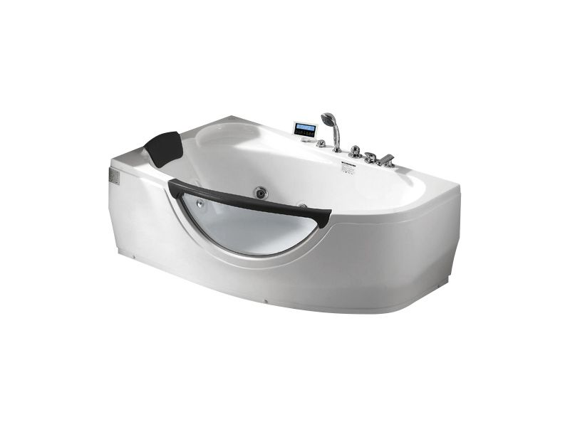 Гидромассажная ванна Gemy G9046 K L левосторонняя с мультимедиа
